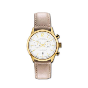 HAUGER GOLDEN VALOR CHRONOGRAPH 42MM