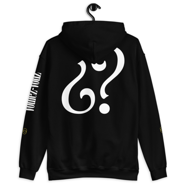 unisex-geometric-hoodie-black back